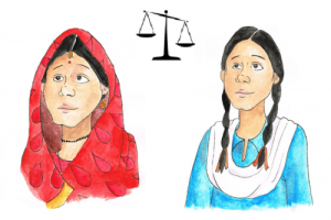 """Image by Maha Rahman, produced for EDI project on """"Child Marriage Law, Gender Norms and Marriage Customs"""""""