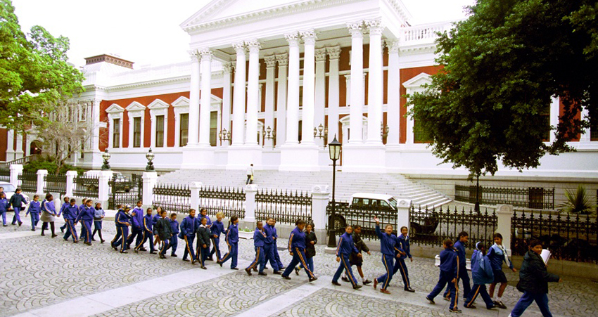 South Africa Parliament building