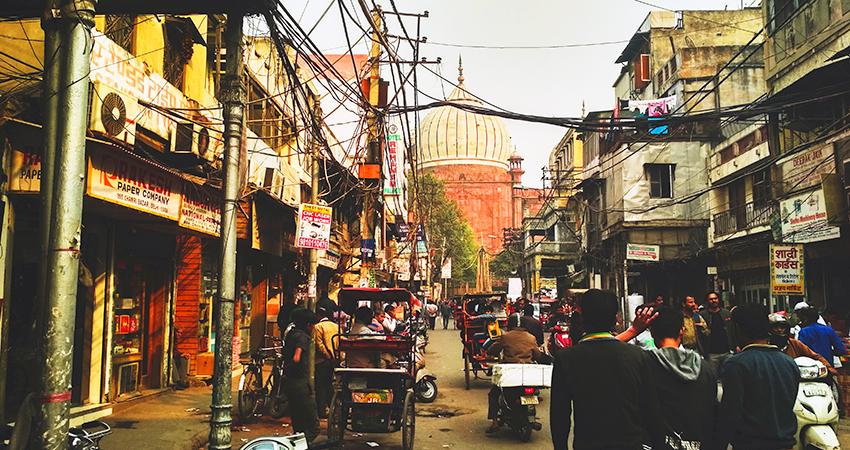 A street in Delhi, India