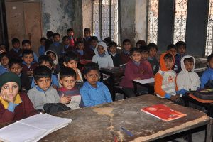 Pakistan - WASH in schools (source: Wikimedia Commons/ Jacques-Edouard Tiberghien)